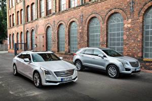 Обои Cadillac Двое 2016 CT6 Автомобили фото