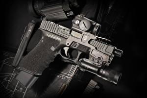 Обои Крупным планом Пистолеты Армия фото
