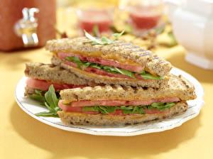 Обои Быстрое питание Бутерброды Сэндвич Пища