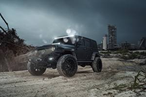 Фотографии Jeep Wrangel MC Fuel Машины