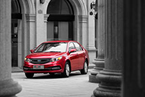 Картинка Красные Красный Машины 2015 GC7 Vision
