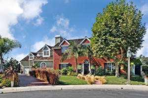 Обои США Дома Калифорния Особняк Дизайн San Clemente Города фото