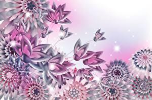 Картинки Векторная графика Цветы