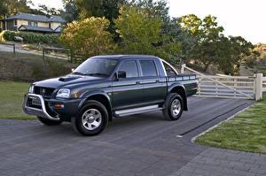 Картинки Мицубиси Металлик 2005-06 Triton GLX-R Double Cab