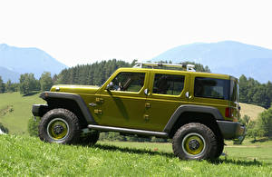 Обои Jeep Сбоку 2004 Rescue Concept Автомобили фото