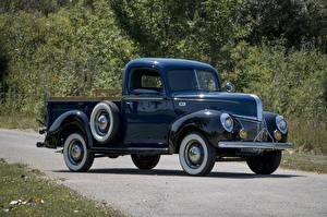 Картинки Форд Ретро Грузовики Металлик Пикап кузов 1941 Deluxe Pickup авто