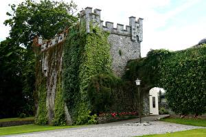 Обои Ирландия Замки Durrow Города