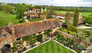 Фотография Англия Замки Ландшафтный дизайн Sissinghurst Castle Kent
