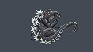 Обои Монстры Godzilla 2014 Фильмы Фэнтези