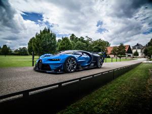 Фотографии BUGATTI Дороги Роскошные 2015 Vision Gran Turismo Автомобили