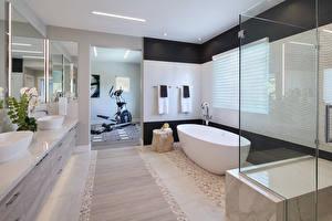Обои Интерьер Дизайн Ванная фото