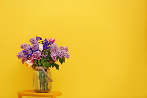 Открытки шаблон ваза