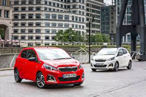Фотографии Peugeot Два Металлик 2014-16 108 машина