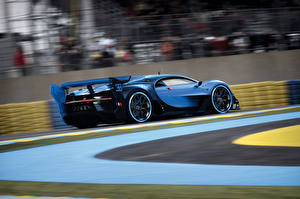 Обои BUGATTI Движение Vision Gran Turismo Автомобили фото