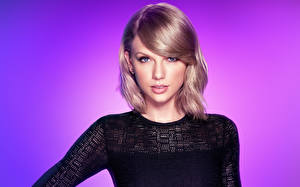 Картинки Taylor Swift Взгляд Знаменитости Девушки