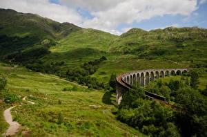 Картинка Шотландия Гора Природа