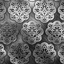 Картинка Текстура Орнамент Металлический