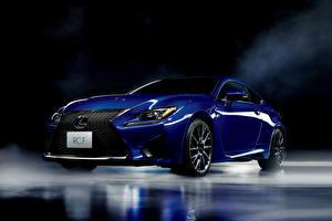 Фотографии Lexus Синих 2014 RC F JP-spec машины