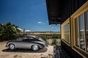 Фото Porsche Ретро Сбоку 1955-57 356A 1500 GS Carrera GT Coupe (T1) машины