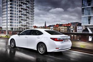 Обои Лексус Белые ES 200 авто