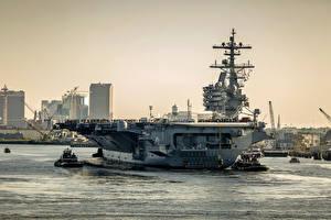 Фотографии Корабли Авианосец aircraft carrier, USS George H.W. Bush (CVN 77)