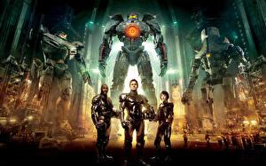 Фото Тихоокеанский рубеж Мужчины Робот Фильмы