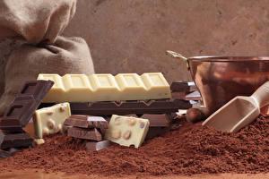 Обои Сладости Шоколад Шоколадка Какао порошок Продукты питания