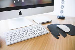 Фото Клавиатура Apple imac, desk, hi-tech