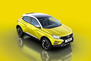 Фото Лада Желтый 2016 XCODE Concept Машины
