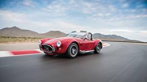 Обои Ford Движение Красный 1964 Shelby Cobra 427 Машины