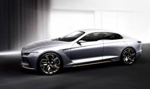 Обои Hyundai Сбоку Genesis Concept Автомобили фото