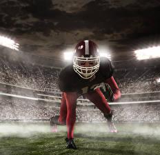 Фотографии Мужчины Американский футбол Шлем