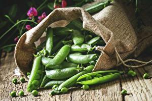 Картинка Овощи Крупным планом Зеленый горошек Пища