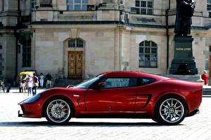 Обои Melkus Красный Металлик Сбоку 2010-16 RS2000 GT006 Автомобили фото
