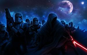 Фото Звёздные войны: Пробуждение Силы Воители Звездные войны Капюшон Мечи lightsaber Фильмы Фэнтези