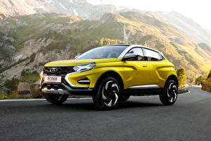 Обои Лада Желтый 2016 XCODE Concept Автомобили фото