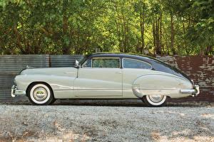 Обои Buick Ретро Сбоку Седан 1948 Roadmaster Sedanet Автомобили