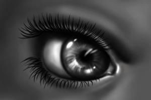 Фотография Глаза Рисованные Крупным планом Ресница Макросъёмка