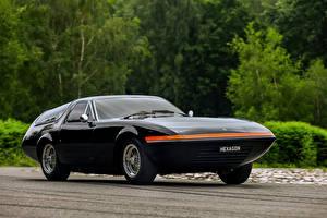Фотография Ferrari Винтаж Черный Металлик 1975 365 GTB 4 Panther Shooting Brake Машины