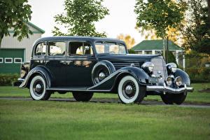 Фото Buick Ретро Черный Металлик Седан 1935 Series 60 Sedan
