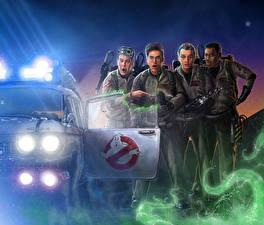 Картинка Мужчины Рисованные Ghostbusters 1984 Фильмы