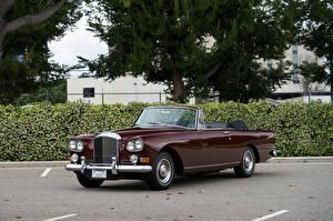 Фото Бентли Винтаж Темно красный Кабриолета Металлик 1962-66 S3 Continental Convertible by Mulliner Park Ward машины