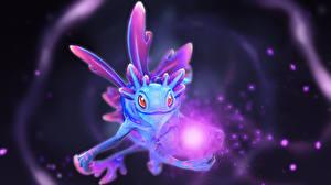 Обои DOTA 2 Puck Сверхъестественные существа Магия Игры Фэнтези фото