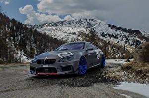 Фотографии BMW Стайлинг Горы Серый 2016 M6 Gran Coupe by Fostla машина