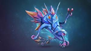 Фотографии Puck Сверхъестественные существа Магия DOTA 2 Игры Фэнтези