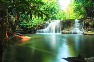 Фотография Таиланд Парки Водопады Природа