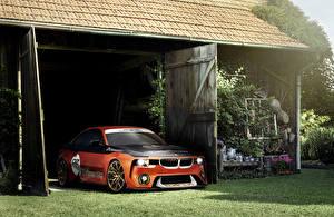 Фото BMW Тюнинг Оранжевая 2016 2002 Hommage Concept машины
