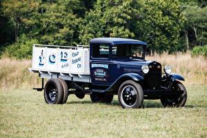 Обои Ford Ретро Синий Пикап кузов 1930–31 Model AA машины