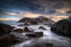 Обои Лофотенские острова Природа