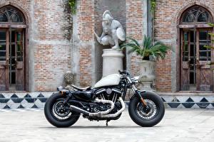 Обои Harley-Davidson Сбоку Мотоциклы фото